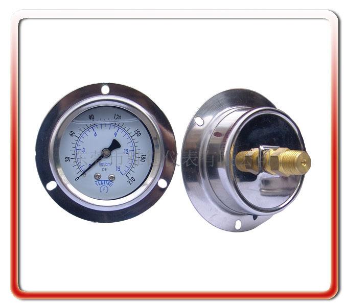60MM軸向耐震油壓表