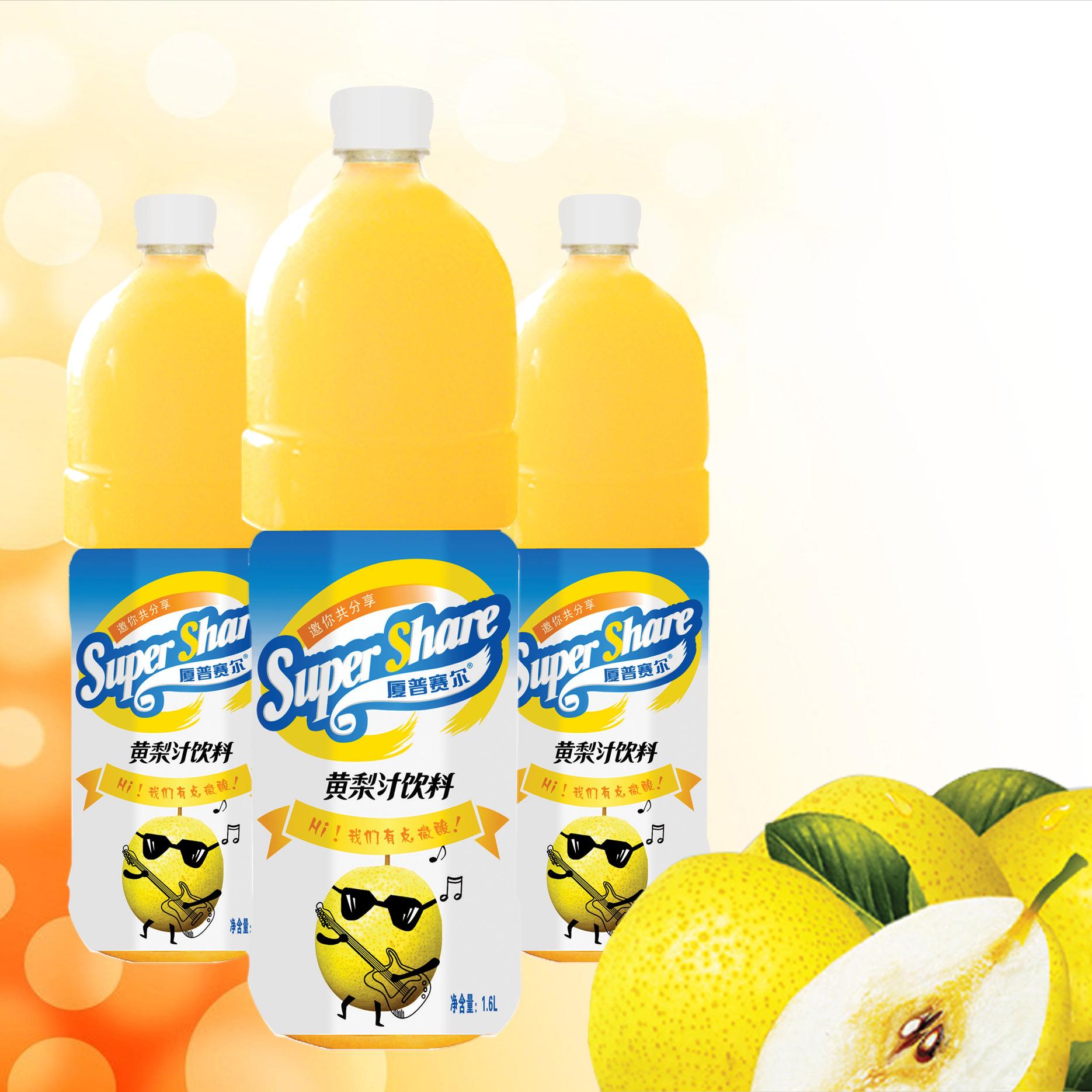 1.6L黄梨汁饮料