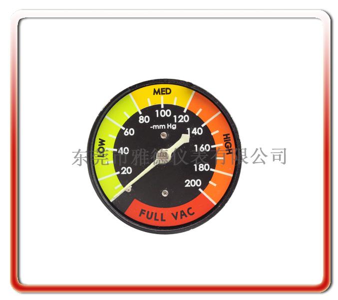 醫用微壓負壓壓力表