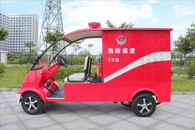 DVXF-3带水箱消防车