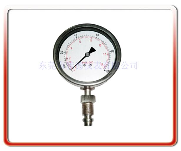 高溫熔體隔膜壓力表