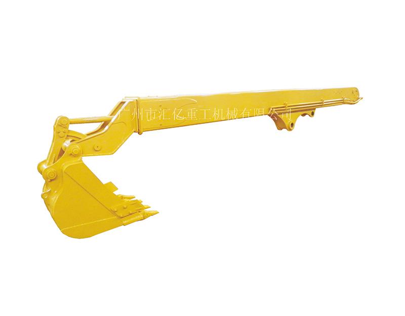 筒式伸縮臂+挖斗