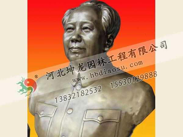 頭像銅雕017