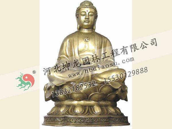 佛像銅雕009