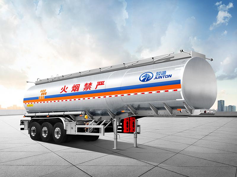 锋昱罐车-铝合金易燃液体运输车