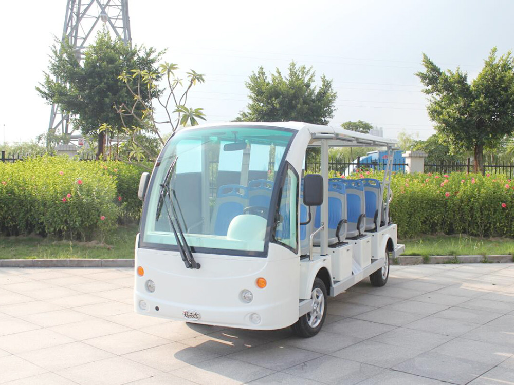 DN-14F观光车蓝灰公交椅