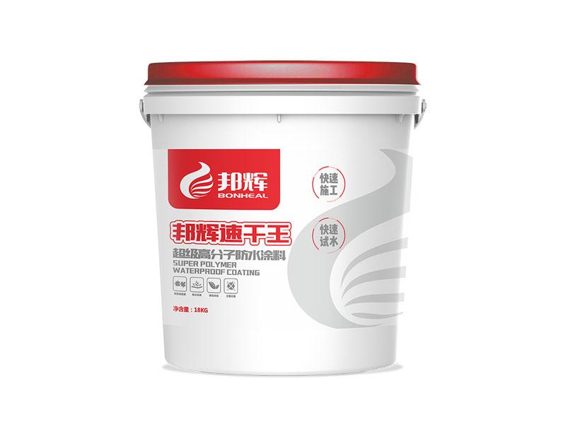高分子速干王水性涂料(單組分)-明星產品行業首創