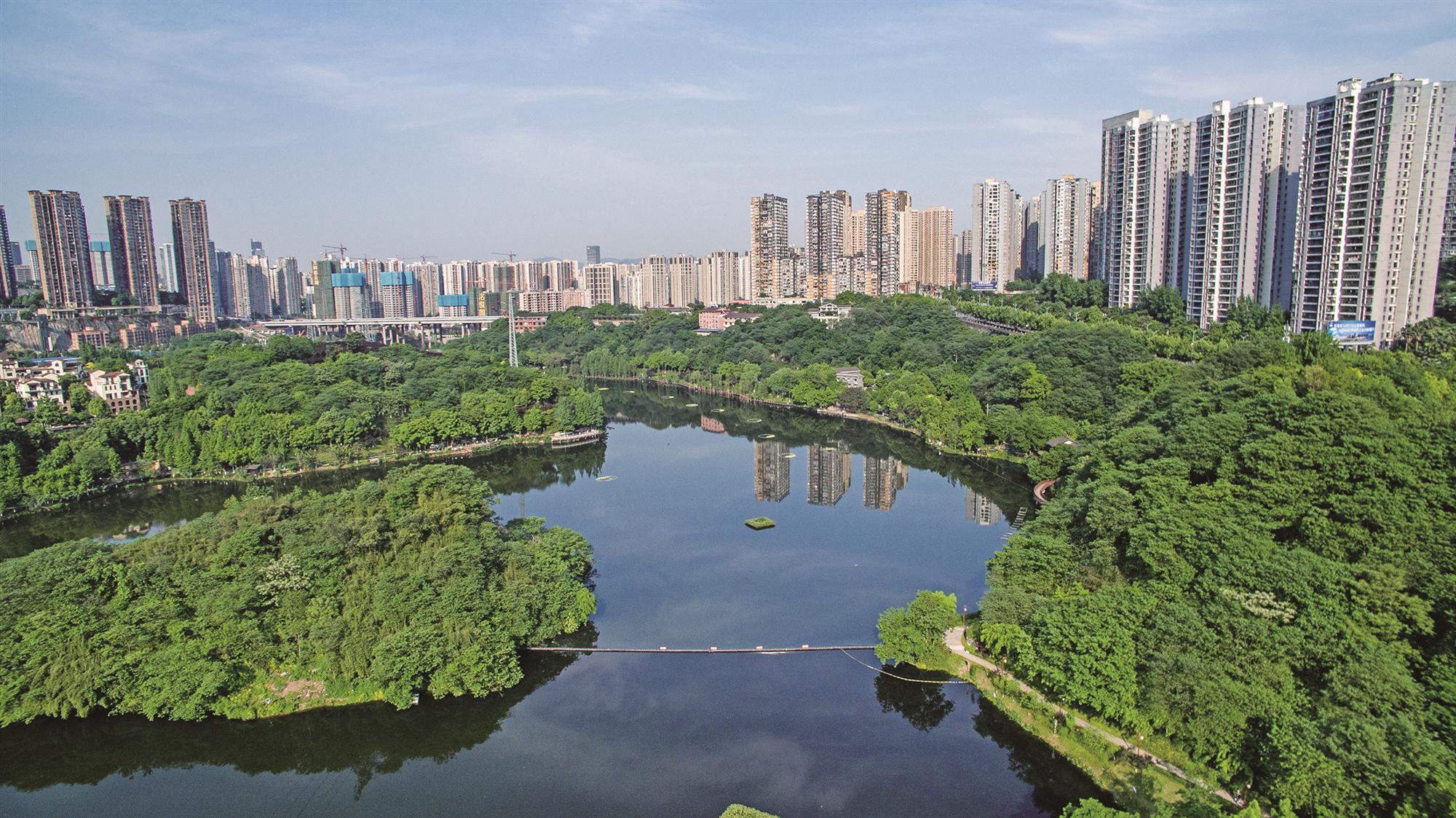 重庆彩云湖自净提升、中央公园镜湖水体整治规划