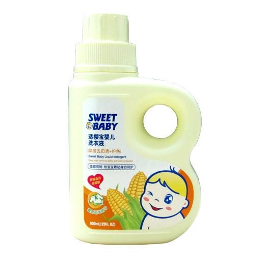 適櫻寶 嬰兒玉米洗衣液(深層去漬+護色)600ml