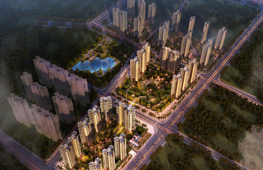 廣西桂平奧園冠軍城項目