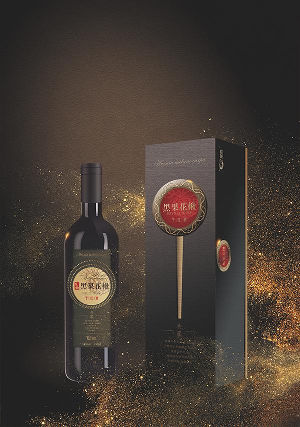 黑果花楸干紅酒
