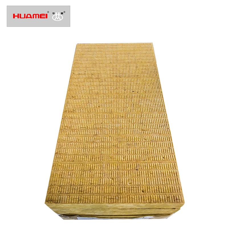 Rock wool board for external wall insulation