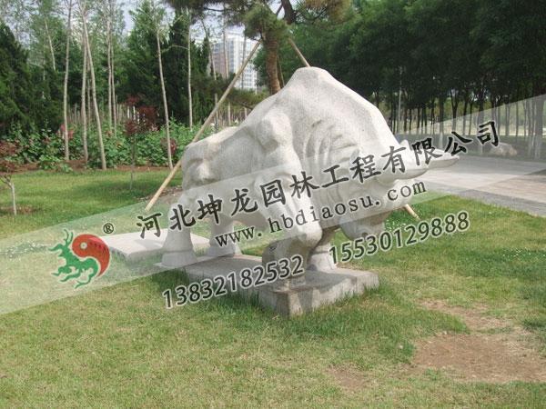 動物石雕031