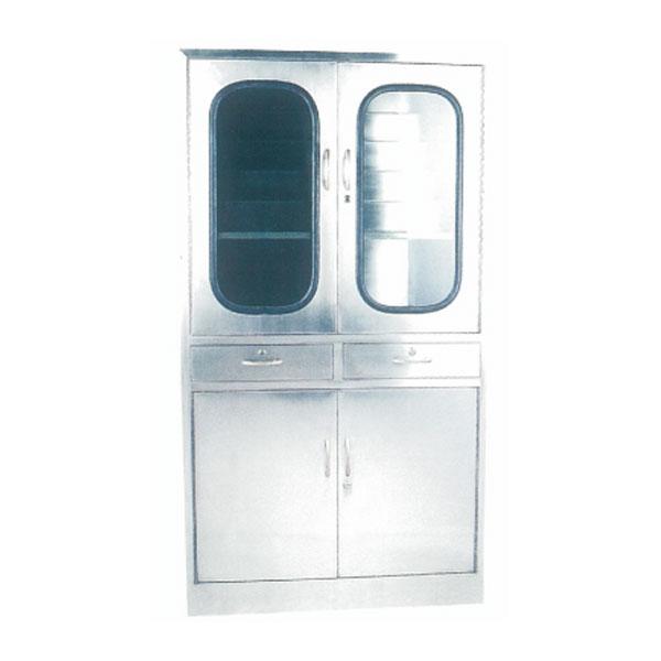 不銹鋼藥品柜(階梯式擱板)