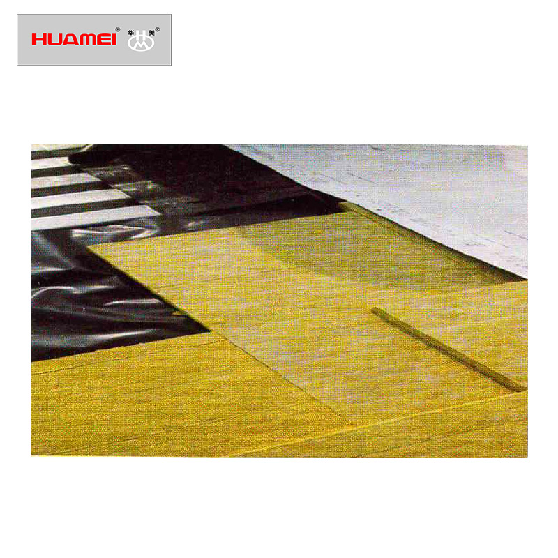 High-strength rock wool board for roof insulation