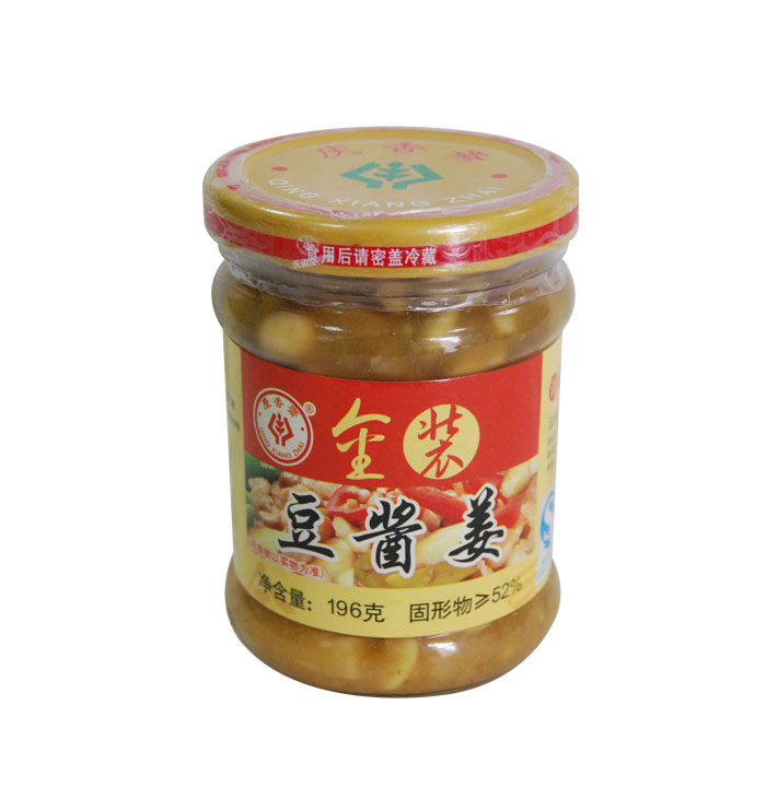 金裝豆醬薑(196克)