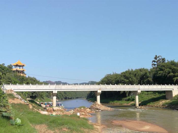 藤縣象棋鎮道家村人行橋建設項目