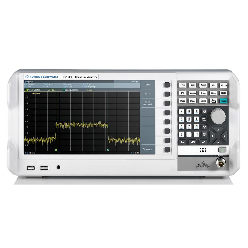 經濟型頻譜分析儀
