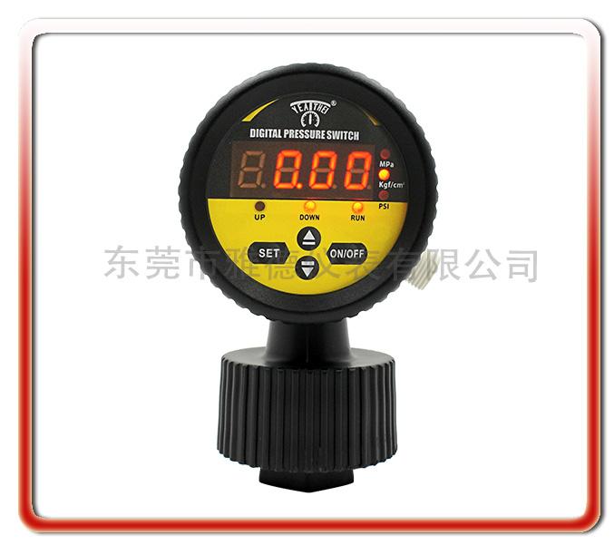 多功能LED數顯PP隔膜壓力表