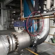 中海油惠炼煤制氢装置 合成气切断阀 (F316+INCONEL625) 2018年7月