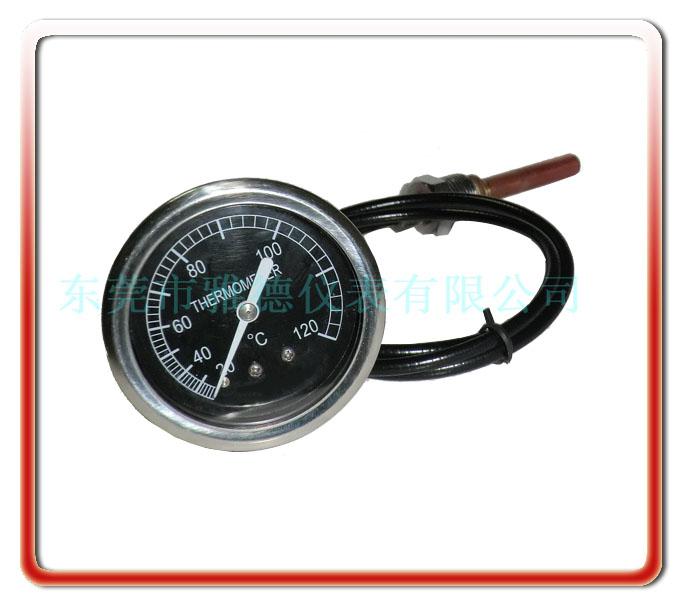 60MM帶軟管壓力式溫度計