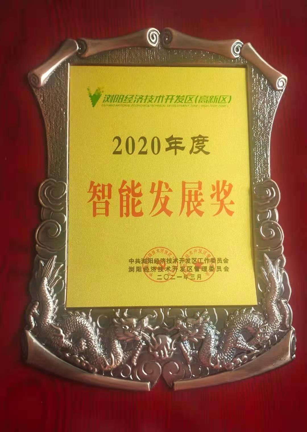 智能發展獎