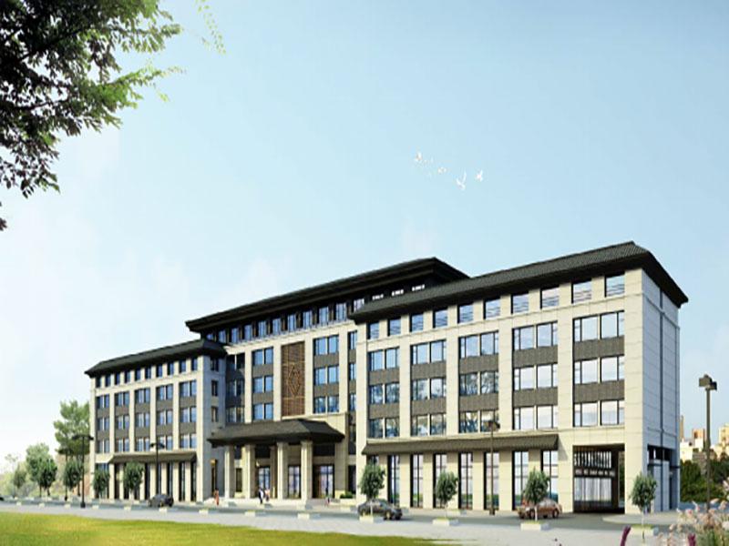 祁連吉源酒店方案和施工圖設計