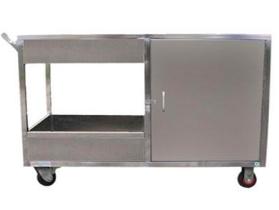 不銹鋼收餐車