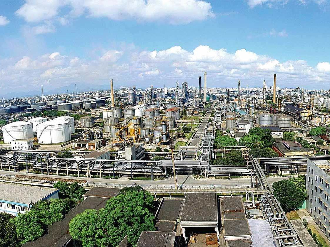 延安炼油厂新建液化气球罐项目