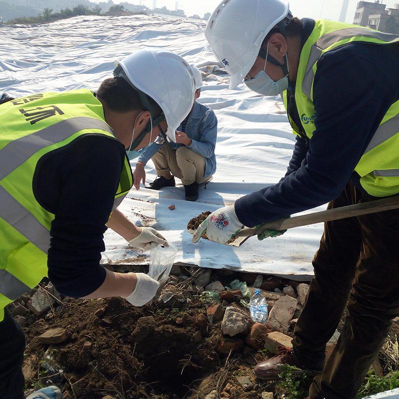 重金属污染异位修复工程