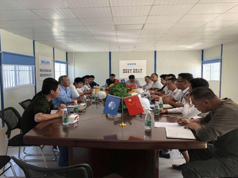 一局集團江西省全南縣雙龍谷教育小鎮項目地基與基礎分項工程基槽驗收順利通過