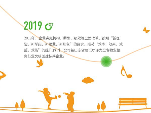 2019年大事記