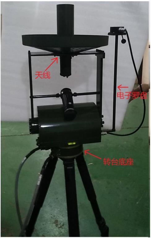 XX弹便携式地面遥测跟踪站