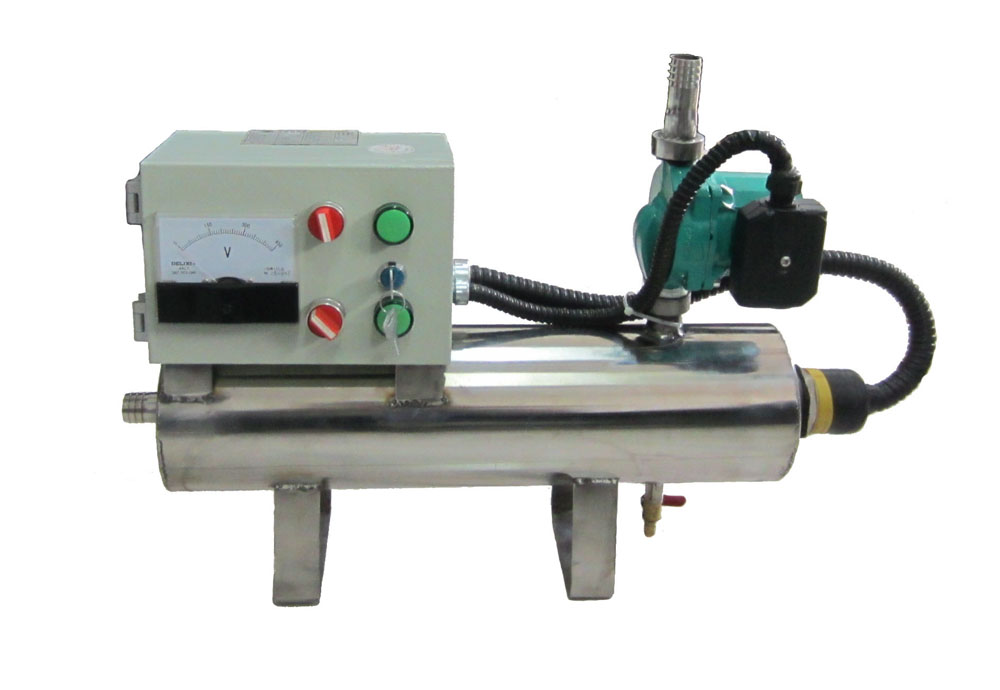 型號QLF系列強制式水套加熱器