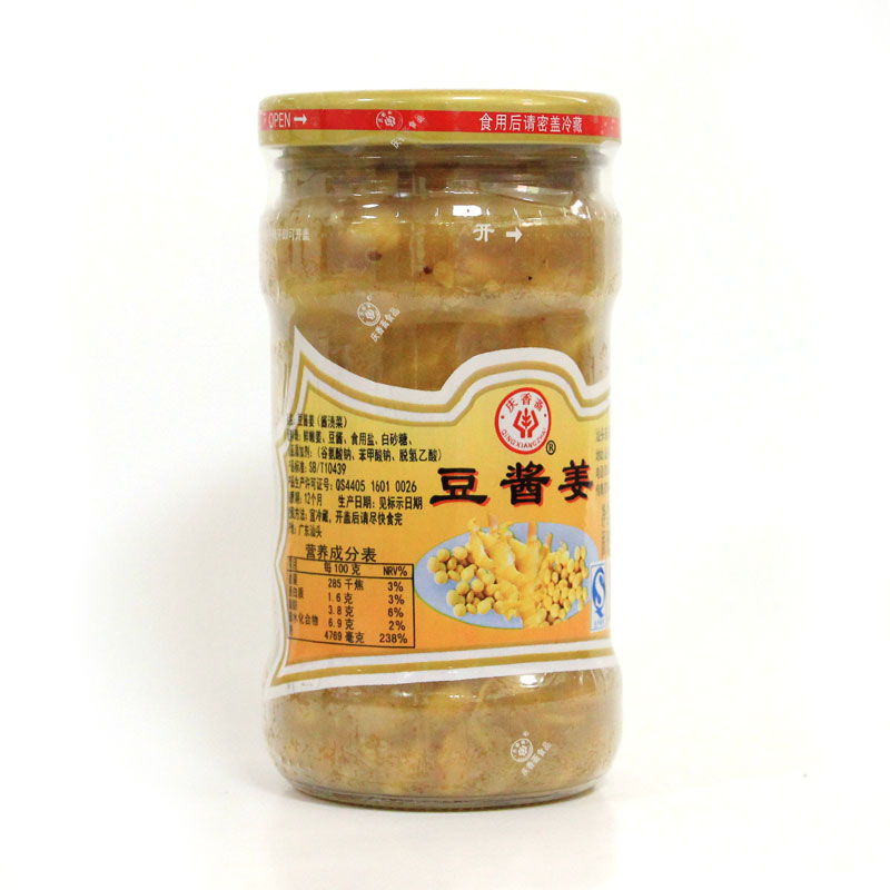 豆醬薑(315克)