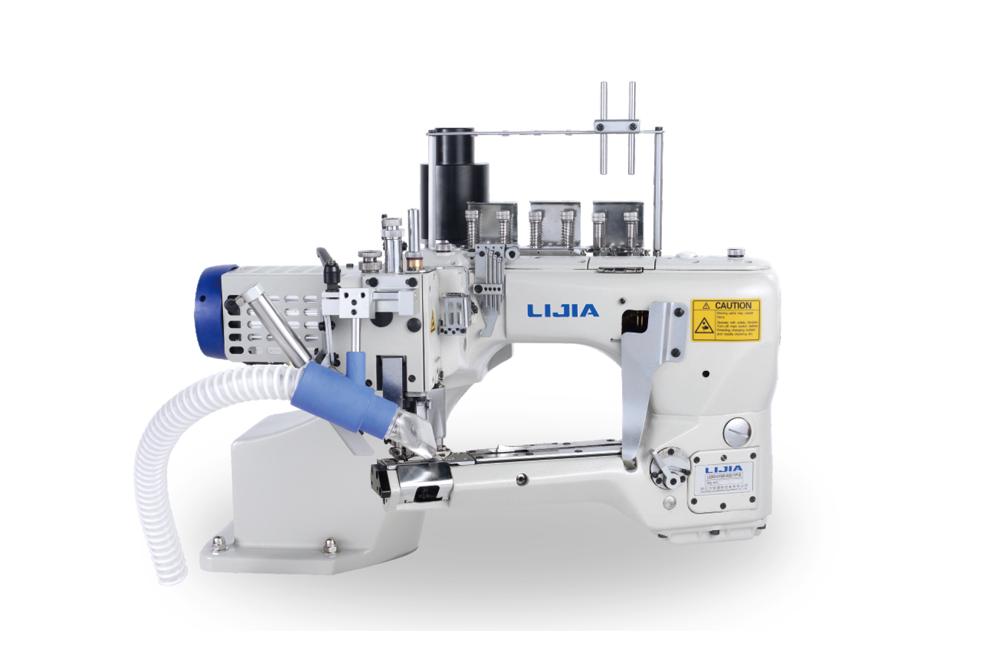 L6200-D(-7) 直驱曲臂式四针六线拼缝机系列(自动剪线)