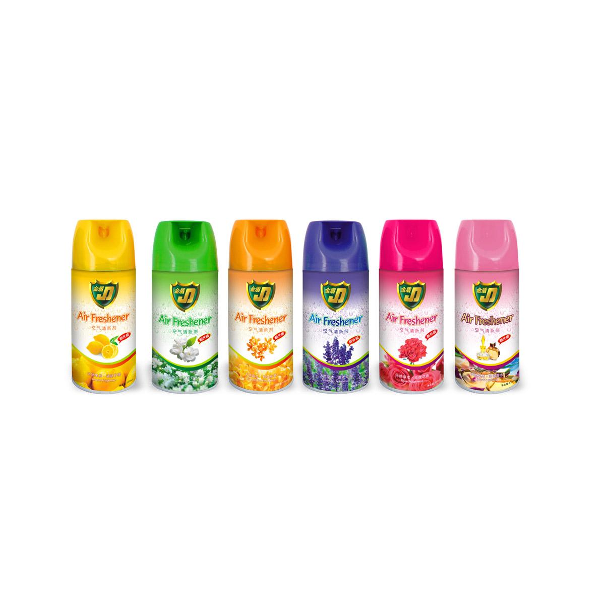 金盾空氣清香劑450ml(檸檬/茉莉/桂花/薰衣草/玫瑰/法國香水)