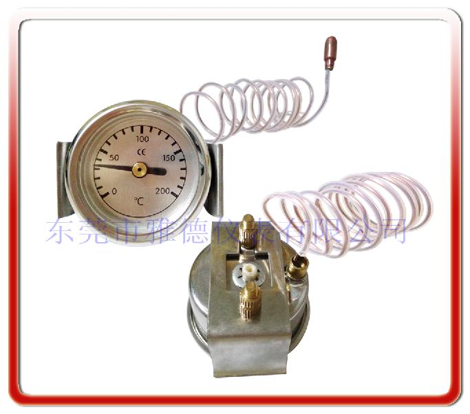 40MM帶安裝支架液體膨脹式溫度計