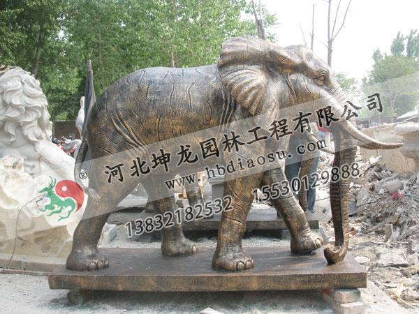 玻璃鋼動物雕塑034