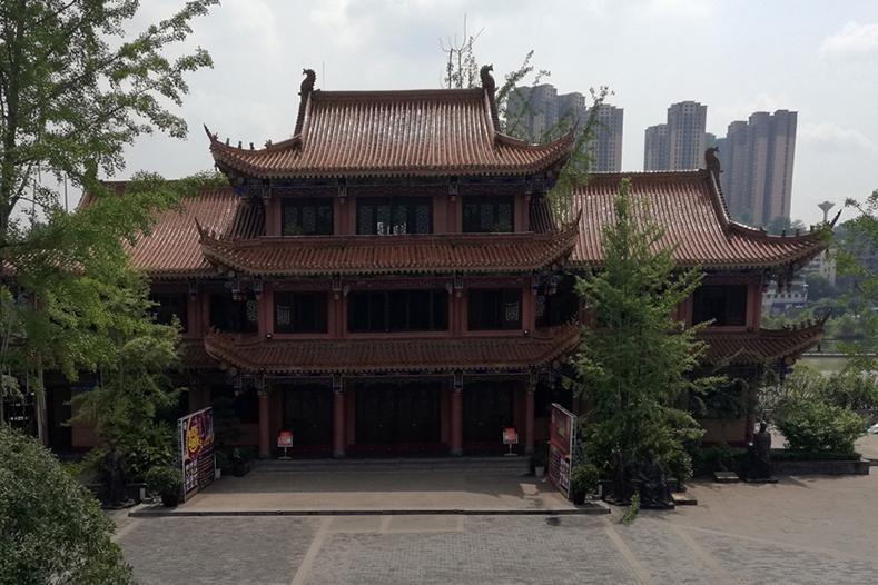 內江三橋仿古建筑