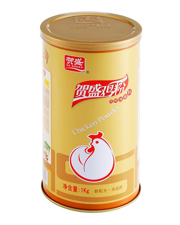 賀盛金罐雞粉