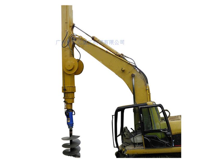 筒式伸縮臂+旋挖鑽