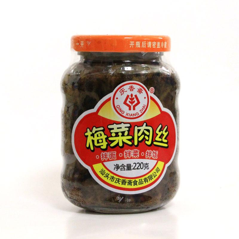 梅菜肉絲(220克)
