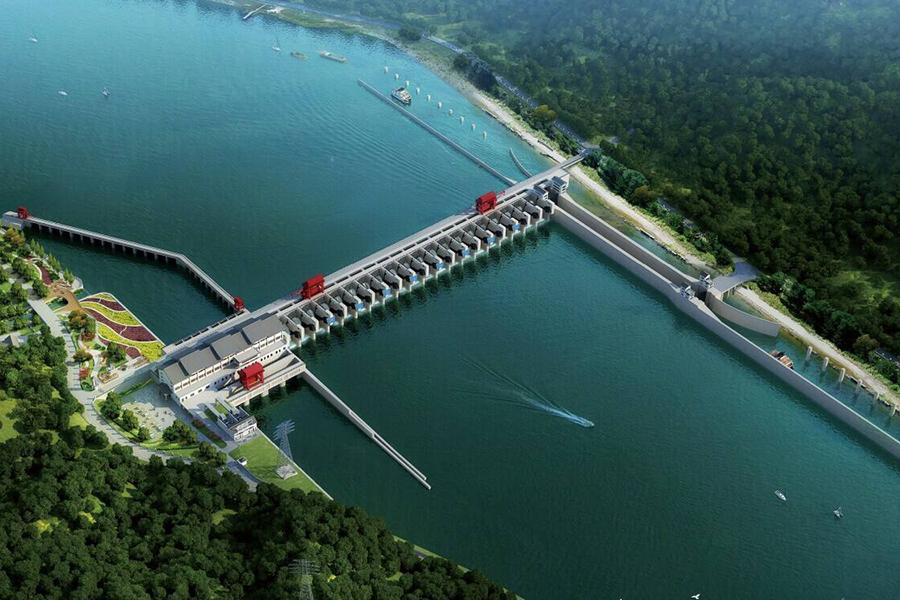 余江石港圩堤除險加固工程
