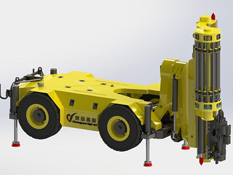 CY-UMT系列地下液壓頂錘式鉆機