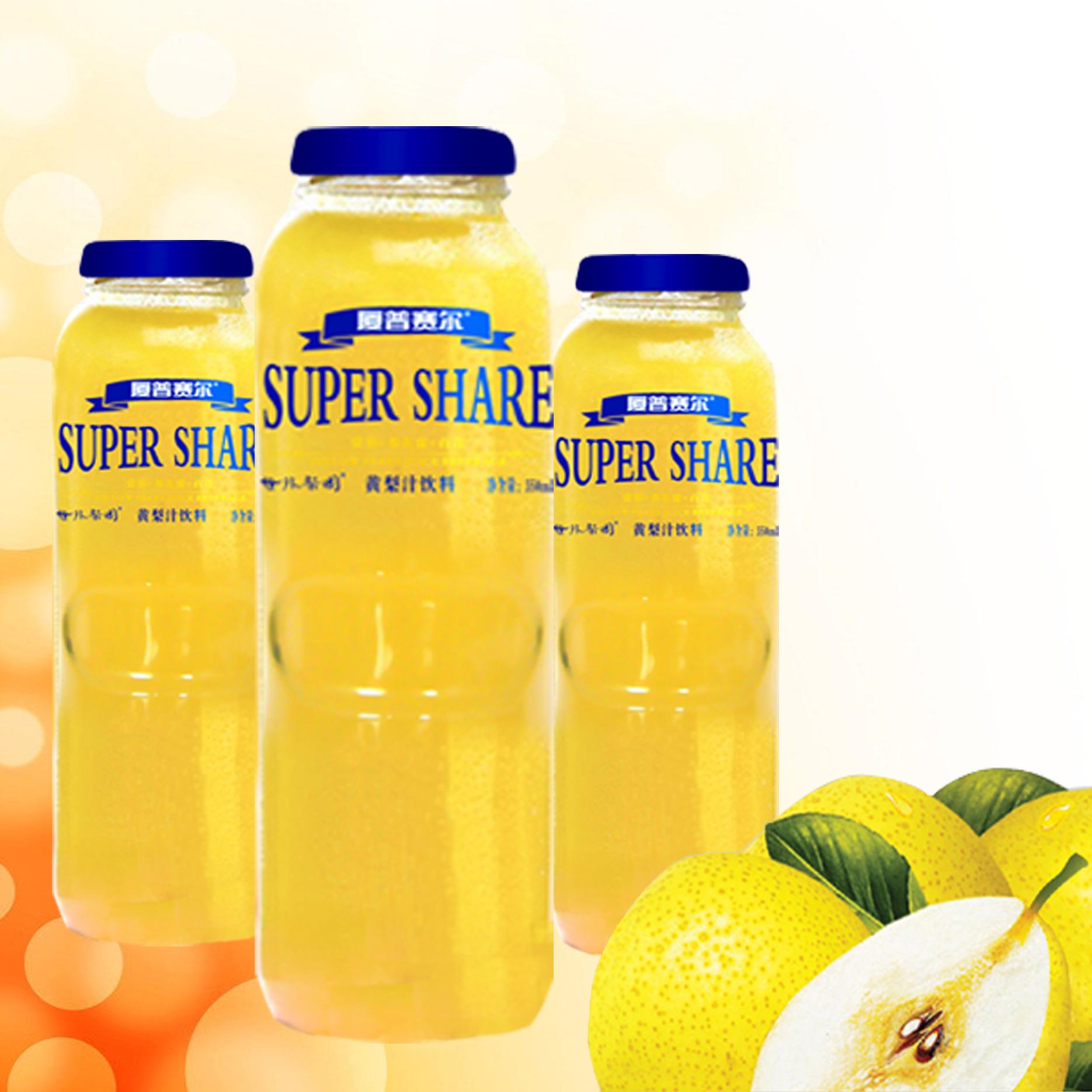 350mL黄梨汁饮料