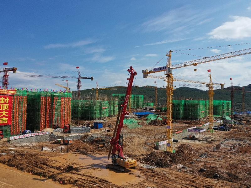 威寧開華家園施工場景圖