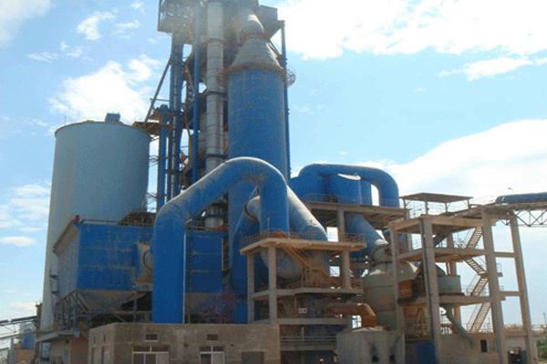 1500T/D水泥生產線工藝設備