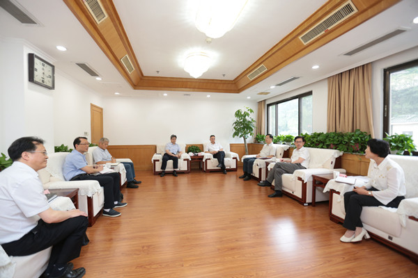 南京市人大常委会主任龙翔会见中江国际集团党委书记、董事长宋勤波一行