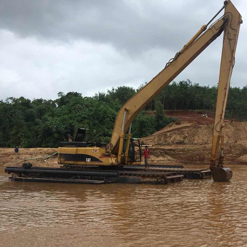 水陸兩用挖掘機-水挖-船挖